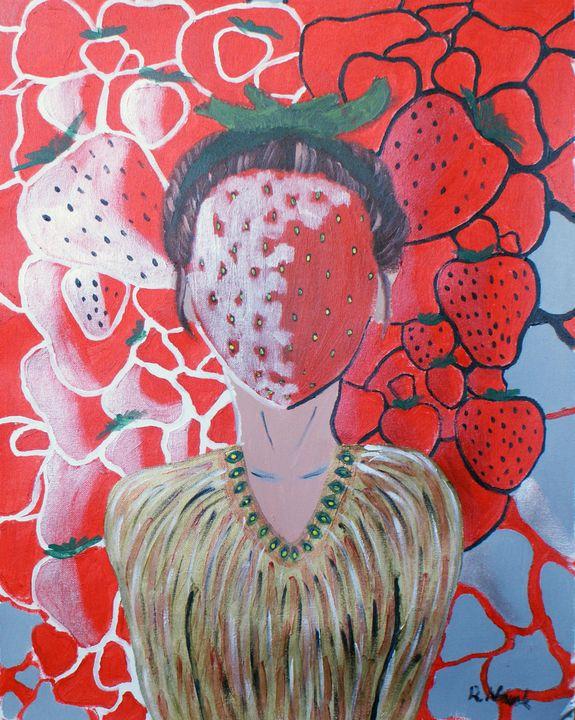 Strawberry Head - Katarzyna Nowak