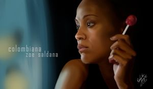 Colombiana: Zoe Saldana Fan Art