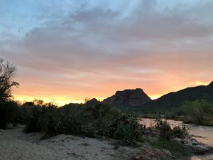 Sunset at Salt River