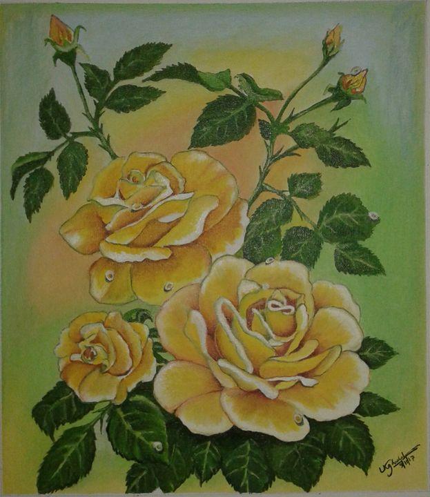 Roses - Ujwalart