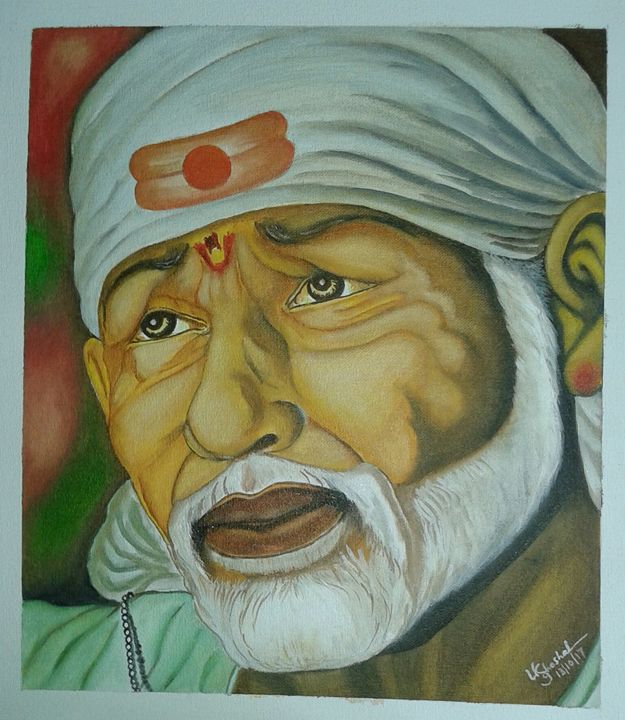 Lord Sai Ram - Ujwalart