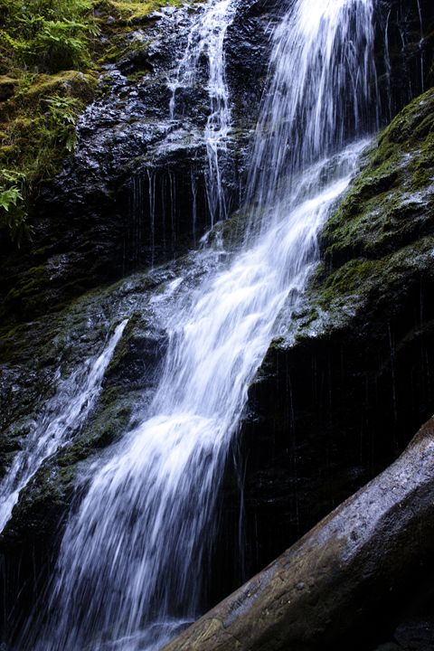 Cascade Falls 2 - Washington Artwork