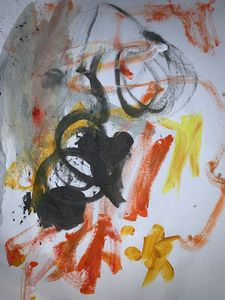 Circle Circle Yellow & Orange