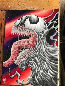 Original Venom Colour Artwork