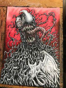 Original Color Venom Artwork
