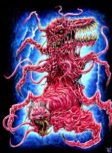 The Thing Creature Art