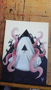 The Void Colour Horror Artwork