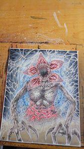 Stranger Things Demogorgon Art