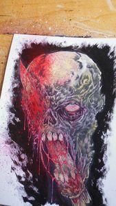 Death Skull Kebab Loose Sketch