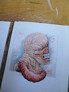 Nemesis Resident Evil Artwork