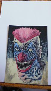 Killer Klown Horror Artwork