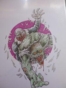 Undead Zombie Window Smashers Art
