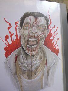Walking Dead Zombie Artwork