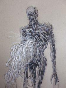 Infested Corpse Dark Souls Art