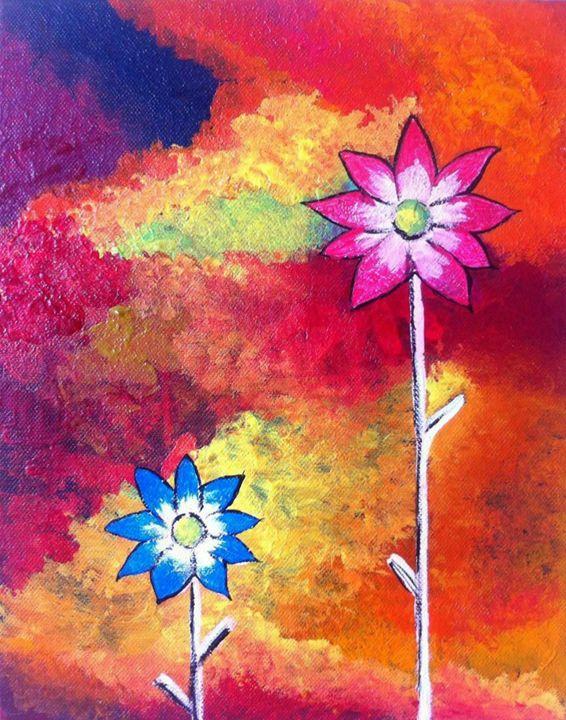 Vibrant Flowers - 2amArtGallery