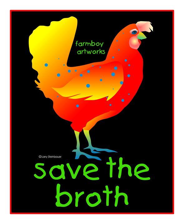 SAVE BROTH - LARRY STEINBAUER