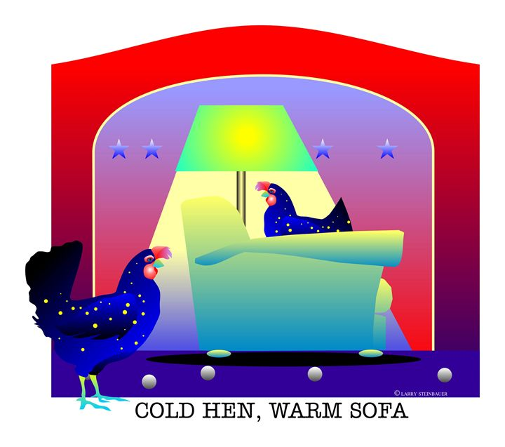 COLD HEN - LARRY STEINBAUER