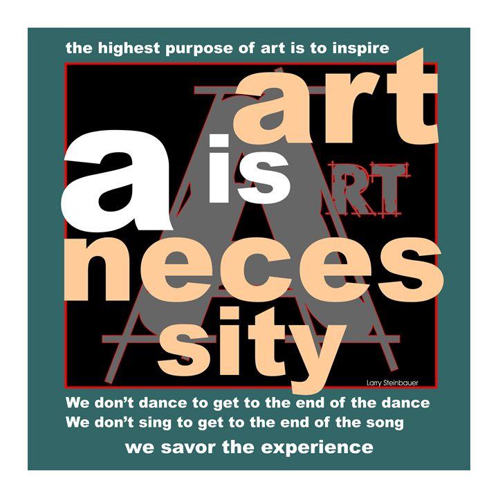 ART NECESSITY - LARRY STEINBAUER