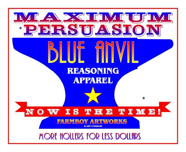 BLUE ANVIL - LARRY STEINBAUER