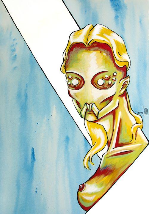 Unknow : Acrylic Painting - Thomas Pradeilles