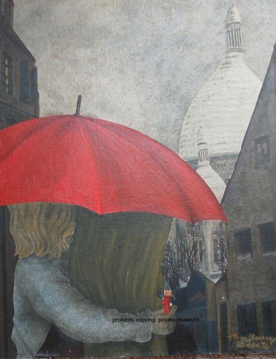 rainy night - Traces of childhood