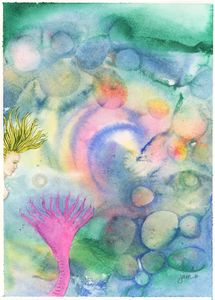 Pink-tailed Mermaid