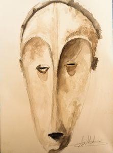 afrcan mask