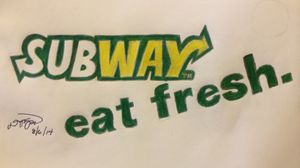 subway logo & catch phrase