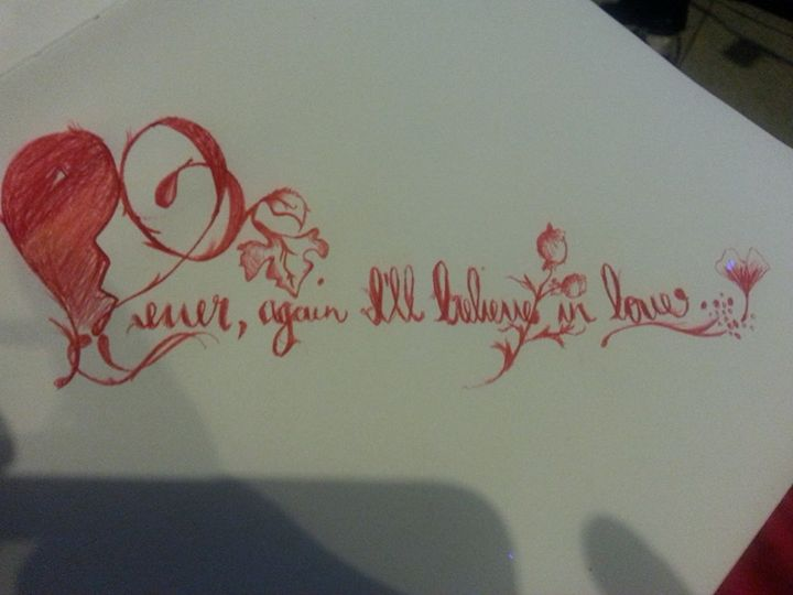 Never believe in love - Miggz2155