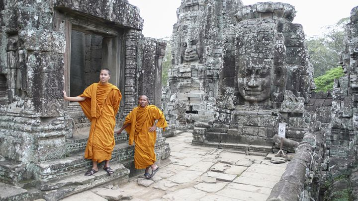 Cambodian Monks - For Lanie