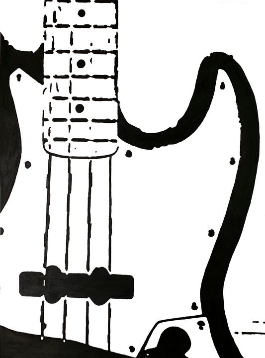 Fender J Bass - GordRussellArt