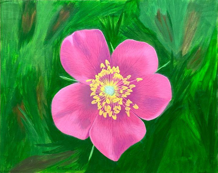Wild Rose of Alberta - GordRussellArt