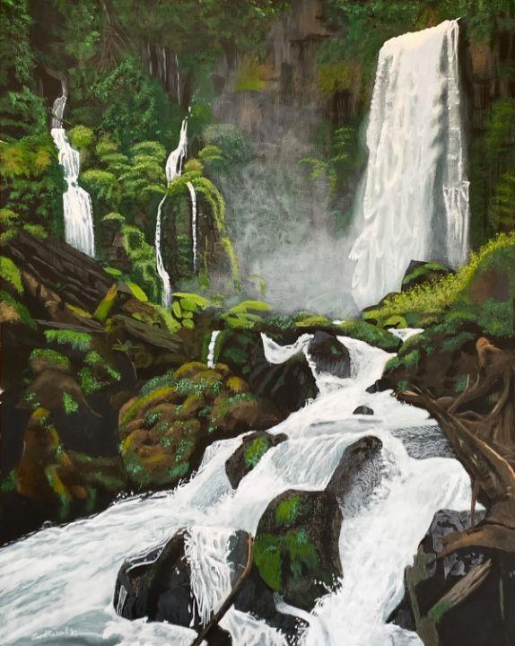 Fantasy Falls - GordRussellArt