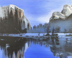 Mountain Stream - GordRussellArt
