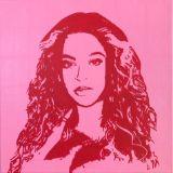 Original painting of Beyonce