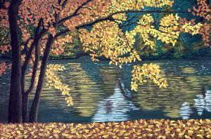 Autumn River - GordRussellArt
