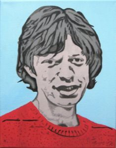 """Young Mick"" - GordRussellArt"