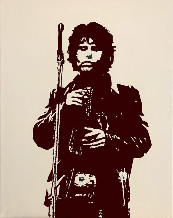 Jim Morrison on Stage. - GordRussellArt