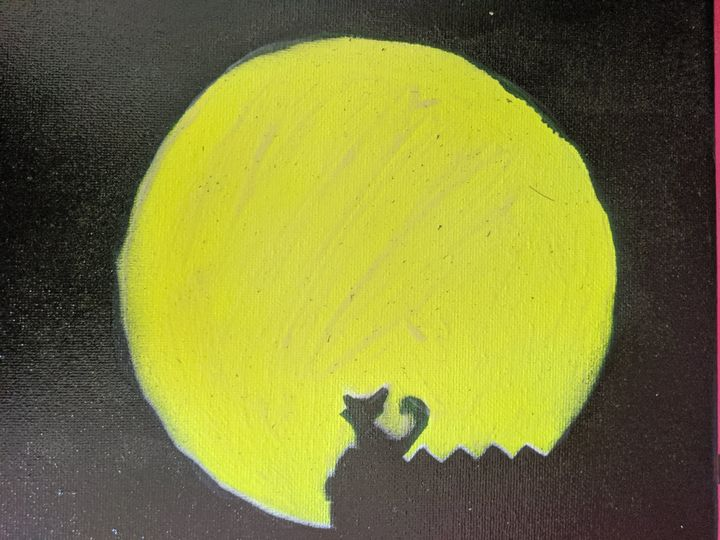 kitty with a full moon - Bumblebee Production