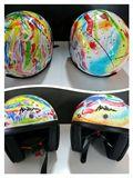 Originale painting on helmet