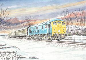 Class 24 Diesel Locomotive