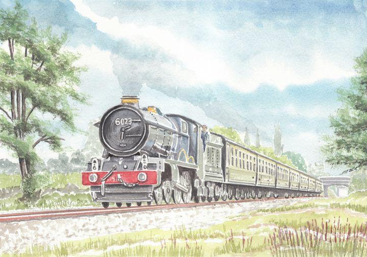 Steam Train 6023 King Edward II - Papilios Creative