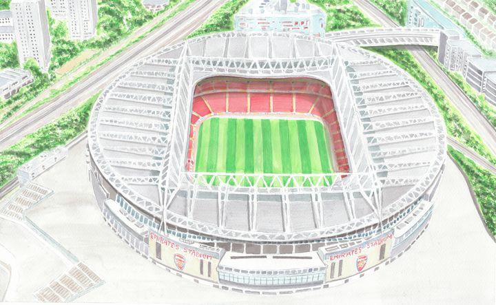 Emirates Stadium, Arsenal FC, London - Papilios Creative