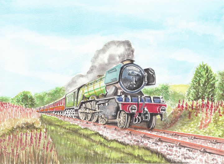 The Flying Scotsman - Papilios Creative