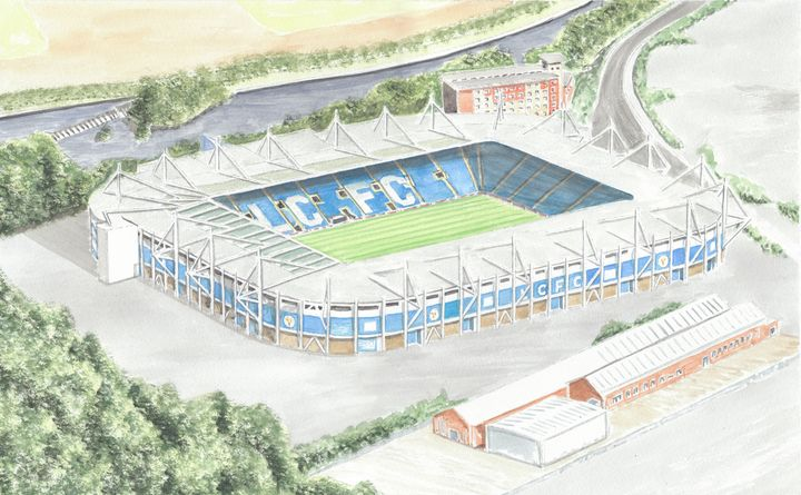 The Kingpower Stadium Leicester City - Papilios Creative