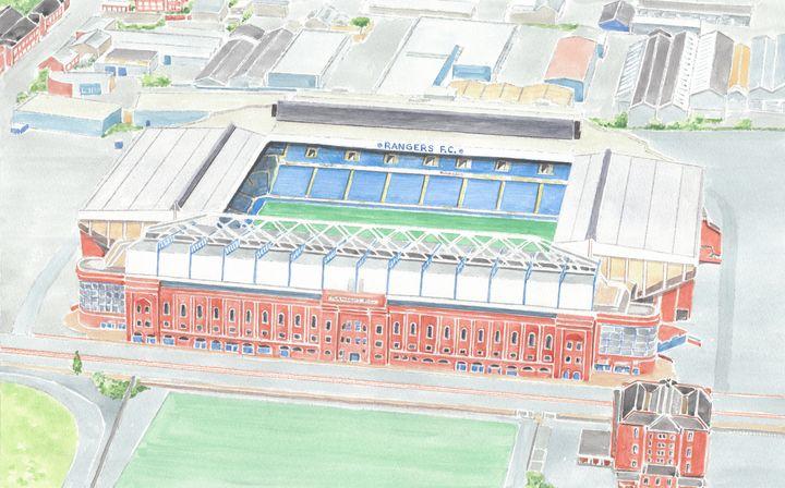 Ibrox Stadium Rangers Football Club - Papilios Creative