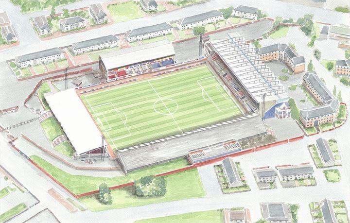 Love Street Stadium St Mirren FC - Papilios Creative
