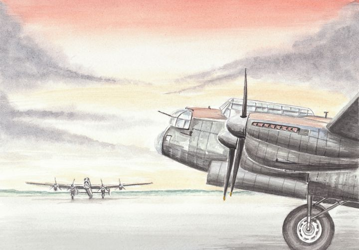 Lancaster Bombers - Papilios Creative