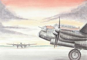 Lancaster Bombers