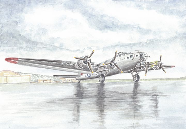 Boeing B-17 Flying Fortress - Papilios Creative